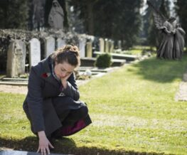 Wrongful Death Cemetery Woman Mourning