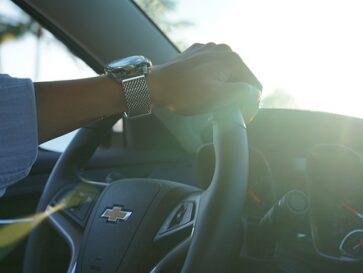 Car Insurance Types-Man-wristwatch-Chevy-Steering-wheel