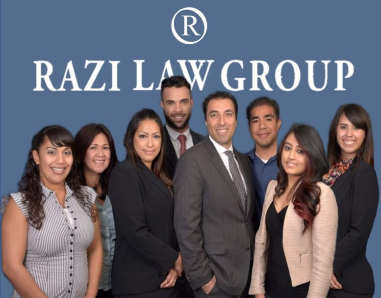 Personal Injury Lawyers Los Angeles Staff in Business Attire